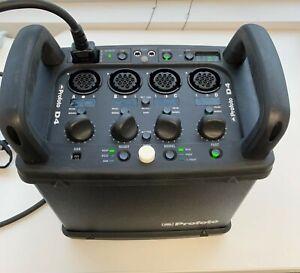 Profoto D4 2400 Power Pack Generator used