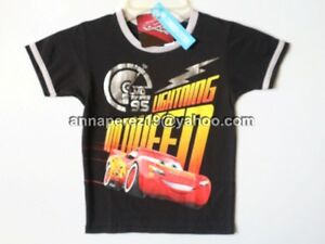 20% OFF! LICENSED DISNEY CARS MC QUEEN  BOY'S TEE SIZE 10 / 9-10 YEARS BNWT 299+