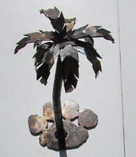 Clemson Tigers- Palmetto Tree Metal Folk Art