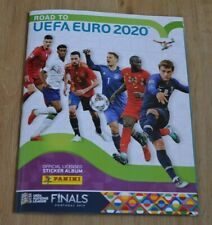 Panini Road to UEFA Euro Em 2020 Sticker Empty Album Collector's Album Album