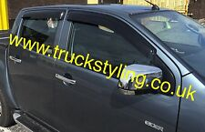 Isuzu DMax Wind Visor Deflectors Guards 2012-2017 models