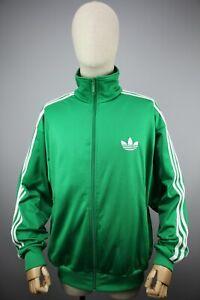 Adidas Originals style 90's Vintage Mens Tracksuit Top Jacket Size L