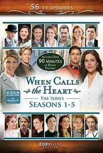 When Calls the Heart Series Seasons 1, 2, 3, 4 & 5 DVD New Sealed