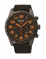 Seiko Gents Solar Sports Watch SSC233P9 RRP£229.00 Our Price £182.95 Free UK P&P