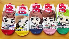 SHINEE SOCKS - ALL OF 5 PAIR - (ONEW MINHO KEY JONGHYUN TAEMIN) - lucifer
