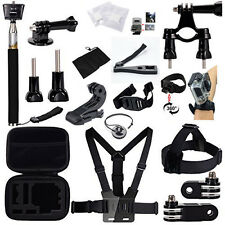 26in1 Head Chest Mount Floating Monopod Accessories Kit F GoPro 2 3 4 Camera Hot
