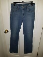 A.N.A. A NEW APPROACH BOOTCUT JEANS, SIZE 28/6, 30X32, LIGHT WASH, STRETCHY FIT
