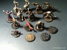 lot 15 Wizards Coast Miniatures for Dungeons & Dragons d&d DDM1 DDM2 DDM3 CG9