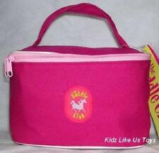 ~ Saddle Club - HORSE COSMETIC / MAKE UP BAG - HOT PINK