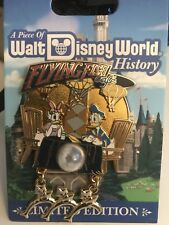 Disney LE pin*  WDW Piece of History DONALD DUCK & DAISY Flying Fish Cafe Pin