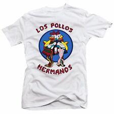 Breaking Bad Los Pollos Hermanos Meth Drugs Call Saul TV Show New White T-Shirt
