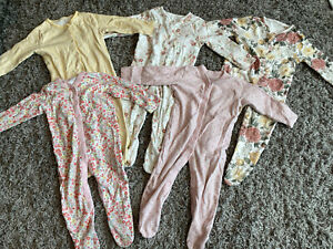 baby grows 9-12 months girls
