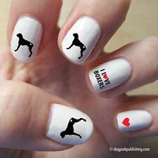 Boxer Love Nail Art Red (DPNA005)- Free Shipping