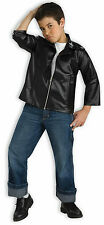 Child 50s Black Greaser Grease Danny Zuko Jacket Costume