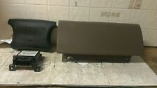 98 99 Dodge 1500 Van Air Bag Set Black Wheel Brown Dash Module OEM