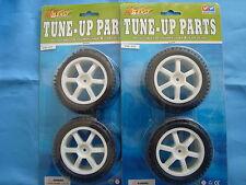 Brand New Full set (4) 1/10 Buggy / Truggy wheels.