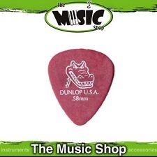 20 x Dunlop USA .58mm Gator Grip Guitar Picks - Bulk Guitar Plectrums - New