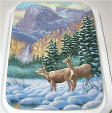 "FRANK MITTELSTADT DEER PLATE ""VALLEY OF LIGHT"" 4TH ISSU"