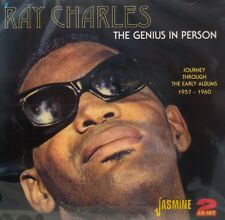 RAY CHARLES 'The Genius In Person' - 2CD Set on Jasmine