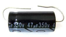 QTY 10 New MIEC 47UF 350V 105C Axial Electrolytic Capacitors