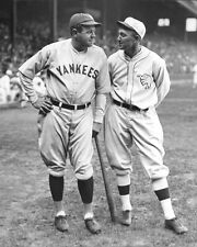 "1927 Yankees BABE RUTH & A's TY COBB Glossy 8""x10"" Photo Baseball Print Poster"