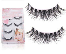 5 Pairs Handmade Natural Thick Long False Fake Eyelashes Eye Lashes Makeup SEU