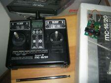 Graupner Sender MC 16 / 20  35 Mhz computersender