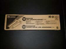 New Lithonia Lighting Linkable 12 In LED 3000K Strip Light Under Cabinet Fixture