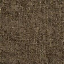Essentials Chenille Upholstery Drapery Fabric Brown / Teak