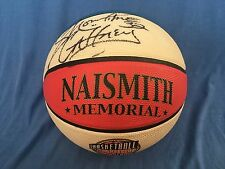 Autographed Showtime Gaffney HiRise HARLEM GLOBETROTTERS Basketball Hall of Fame