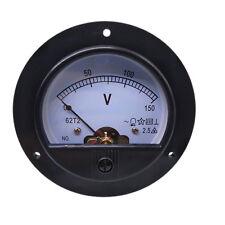 Us Stock Ac 0 150v Round Analog Volt Pointer Needle Panel Meter Voltmeter