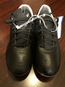Under Armour Magnetico Select FG Jr Soccer Cleats Black / Silver Size 2.5y New
