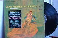 THE KING AND I Lincoln Center Production - Original Cast - 1964 Vinyl LP VG+/VG+