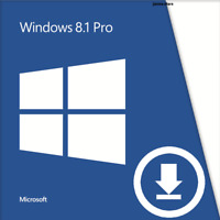 Microsoft Windows 8.1 Pro Professional 32&64 Bit Multilingual Key SOFORTVERSAND