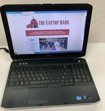 """Dell Latitude E5530 Laptop - 2.6GHz i5-3320m 8GB 320GB DVDRW  15"""" SP9"""
