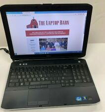 Lot of 5 - Dell Latitude E5530 Laptop - core i5 - issues