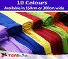 """Plain Voile Net Curtain Fabric 59""""(150cm) & 118''(300cm) Wide Sold By the Metre"""