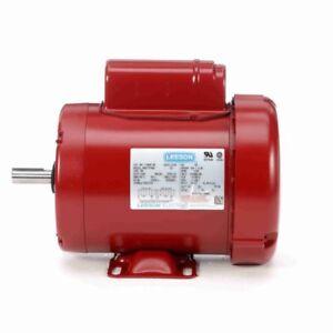 110088.00 Leeson 1HP Farm Duty Motor, 1725RPM, 115/208-230V, 1Ph 56 Frame 110088