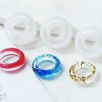 Silicone Mould Dried Flower Resin Epoxy Decorative Ring DIY Craft Mold R5L8