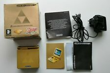 Nintendo Game Boy Advance SP Limited Edition Zelda Variant Console PAL BOXED