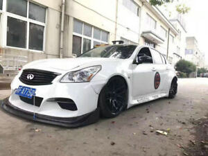 For Infiniti G37 4 Door TP Style Full Wide body All Bodykits FRP Unpainted