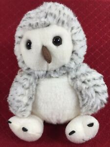 "Russ Shining Stars Plush Snowy Owl Bird Woodland Friend 8"" 2006 Stuffed Animal"