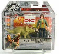 Jurassic World Park Zia & Triceratops Veterinarian Vet Doctor Dinosaur Set Htf