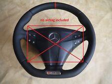 Mercedes Benz flat bottom steering wheel C class W203 C32 C55 AMG S63-W222-style