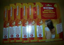 WUNDmed - 6x Wärmepflaster - 13 x 9,5 cm Wärmetherapie Pflaster, Wärmepad