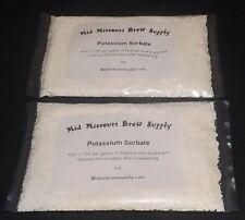 Potassium Sorbate 2oz. Wine Making, Fermentation, Stabilizer,