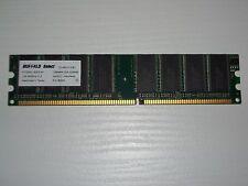 RAM 1GB DDR400 Memoria Desktop 184pin DDR DDR1 PC3200 400Mhz  BUFFALO PERFETTA