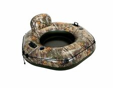 Intex Realtree Camo River Tube Connect Inflatable Swimming Pool Float Lounge