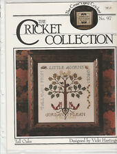 """Fiche point de croix Cricket Collection  """" TALL OAKS """""""