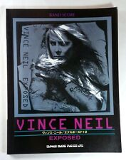 "VINCE NEIL ""EXPOSED"" BAND SCORE JAPAN GUITAR TAB"